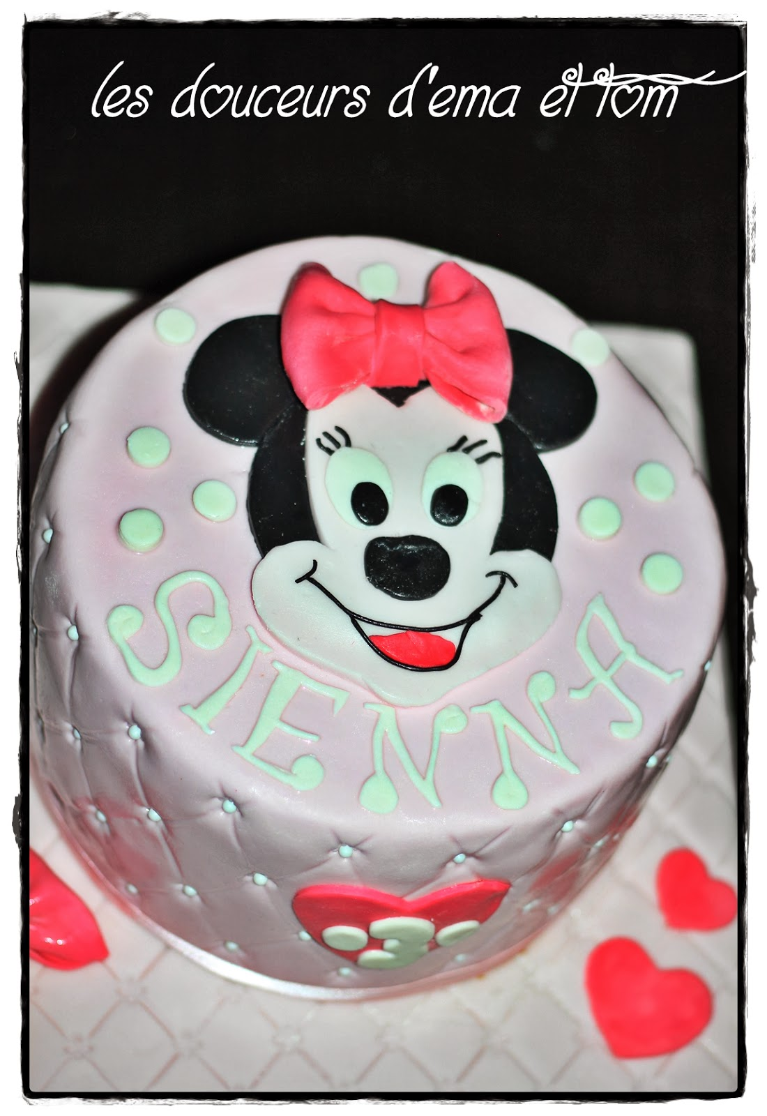 G teau minnie pour sienna blogs de cuisine - Cuisine de minnie ...