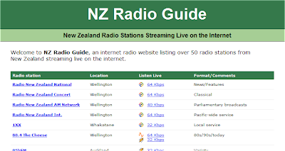 Radio Stations Online for New Zealand