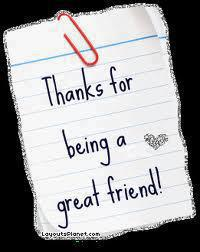 Thanks For Great Friend