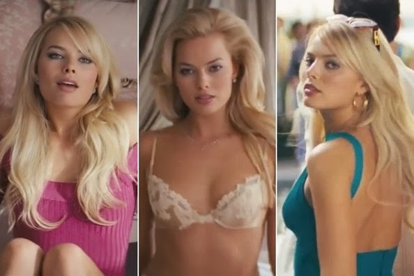 Margot Robbie nude The Wolf of Wall Street