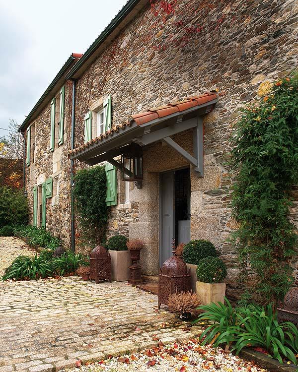 Un faro de ideas antigua casa de campo en galicia - Casas de piedra galicia ...