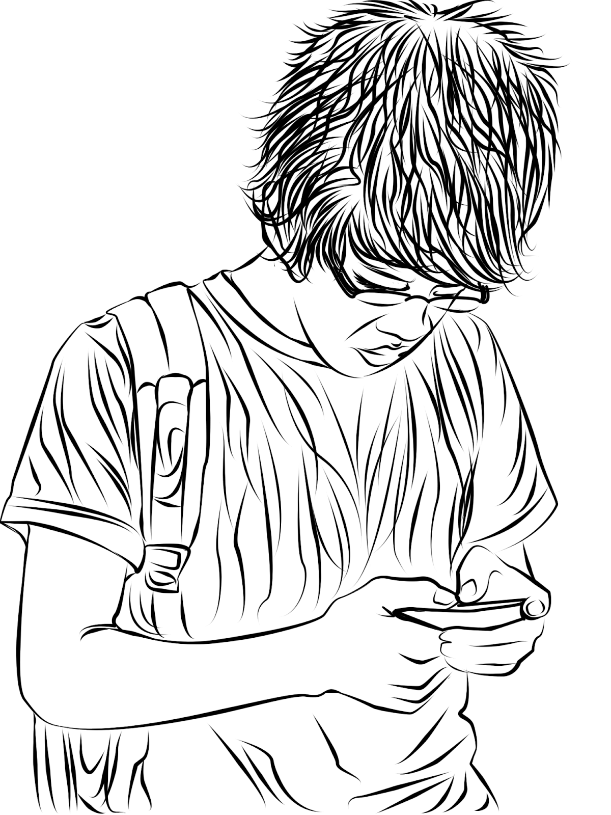 line art photos