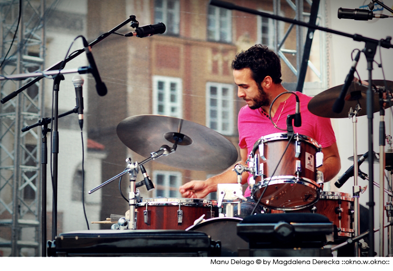 :: Manu Delago :: 17th International Jazz at The Old Town Square Festival :: 2011