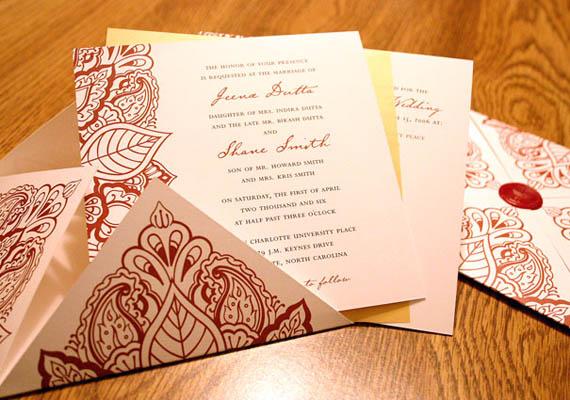 Amazing Wedding Bengali Wedding Invitation Cards Ideas