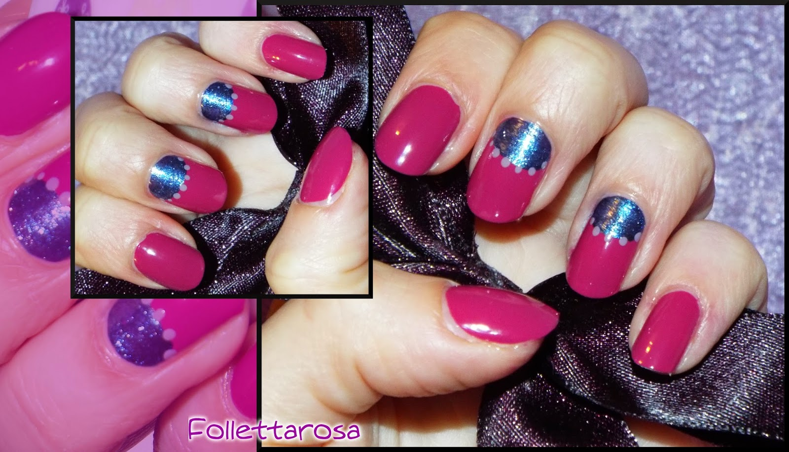 nail art mezzaluna tutorial