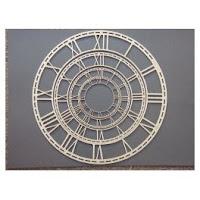 Chipboard - Dusty Attic - Clock Faces