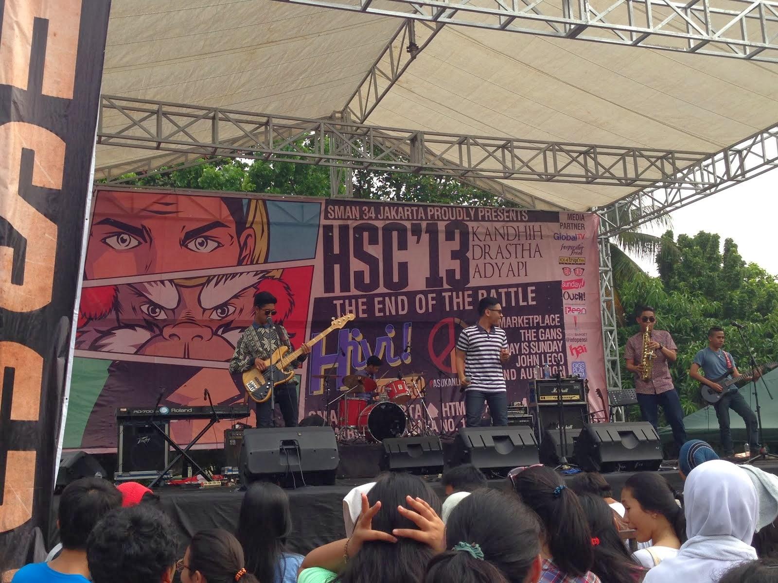 HSC '13, SMA 34 Jakarta