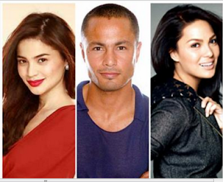 KC Concepcion with Derek Ramsay and Anne Curtis