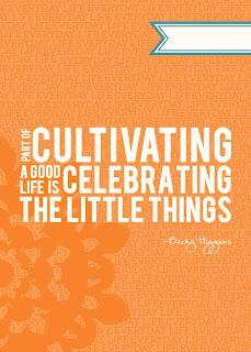 Becky Higgins, Gratitude,