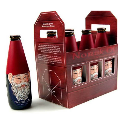 design de embalagem - food packaging design - Norsk Ol