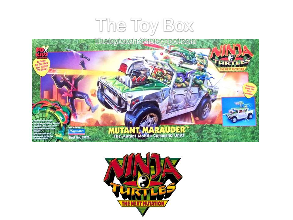 The Ninja Turtles Next Mutation Toys : The toy box ninja turtles next mutation teenage