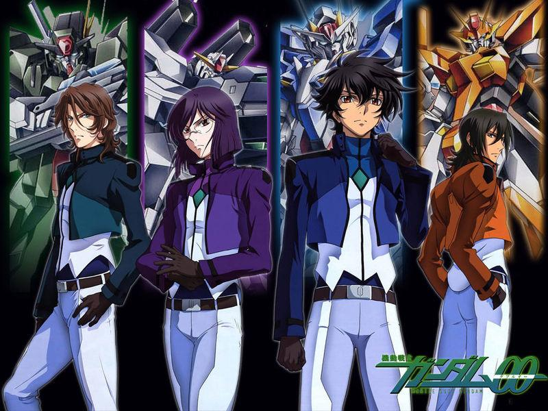 gundam+00 Mobile Suit Gundam 00 Season 1 [ Subtitle Indonesia ]