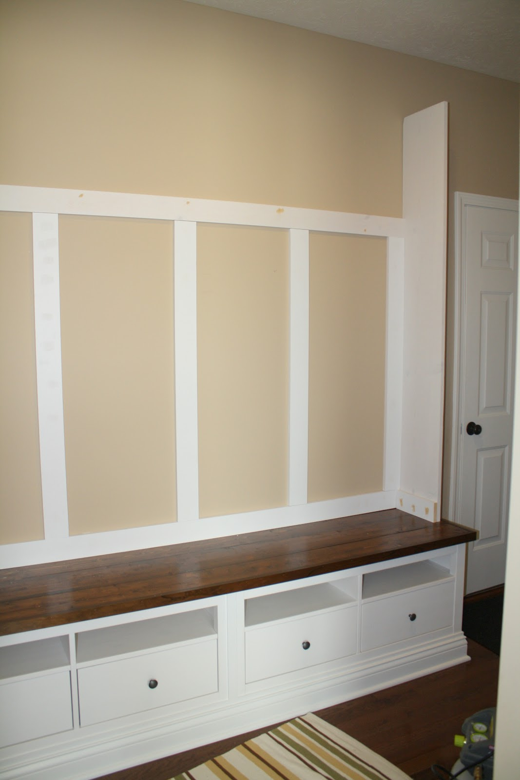 Mudroom Storage Units Ikea : Making mudroom storage from an ikea hack