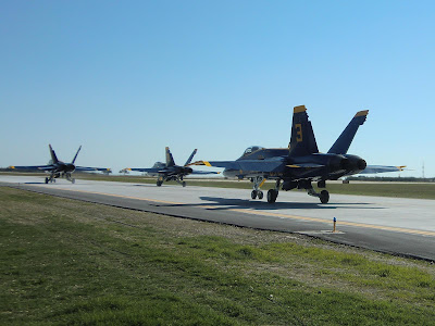 Randolph Air Force Base 2011 Air Show: U.S. Navy Blue Angels