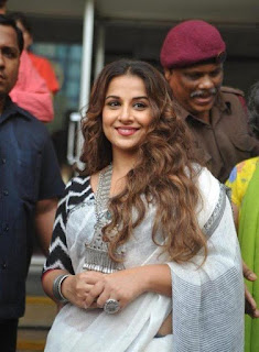 Vidya balan at chaplin lines exhibition launch