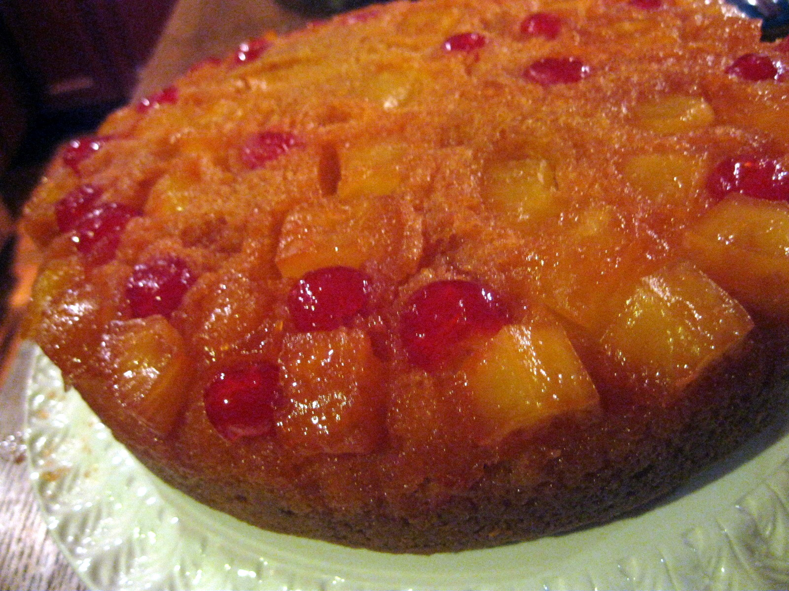 Adirondack Baker Chunky Pineapple Upside Down Cake