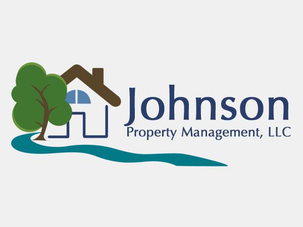 Johnson Property Management Logo Design Branding Guidelines Alice Graphix AliceGraphix