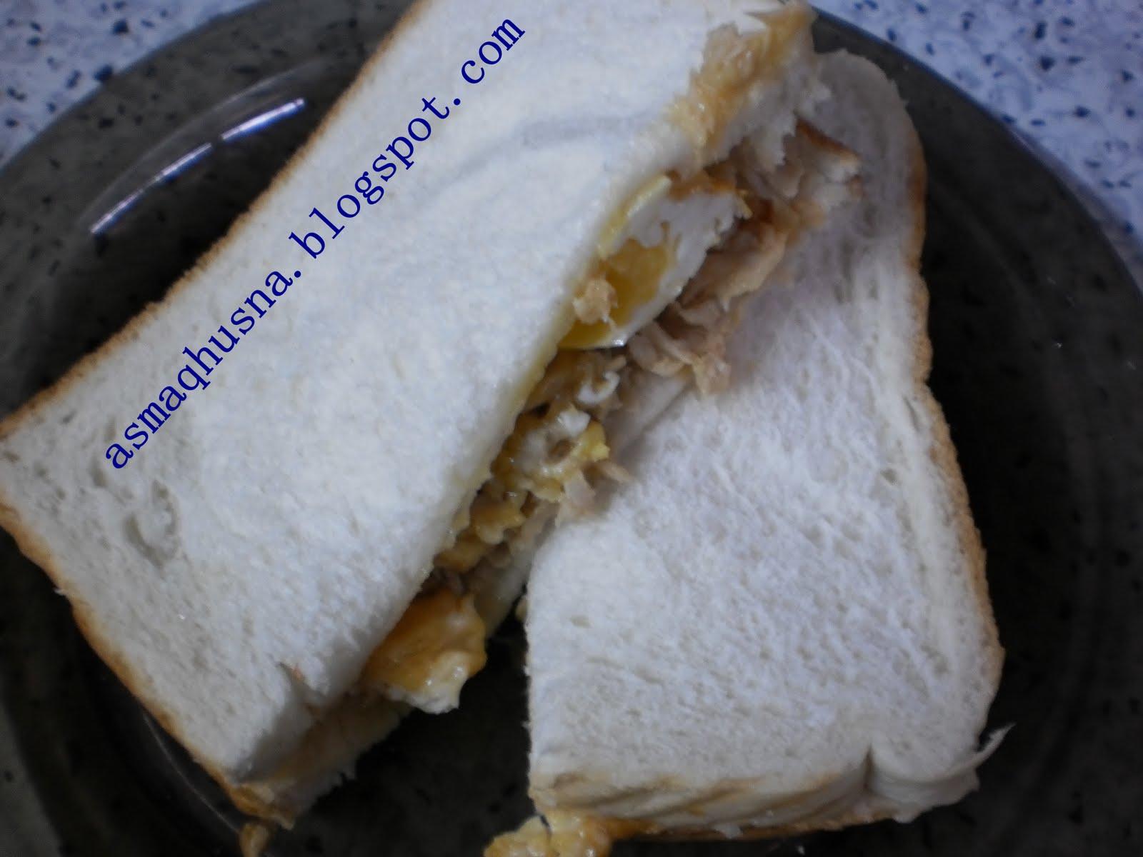 Resep Membuat Roti Tuna Telur