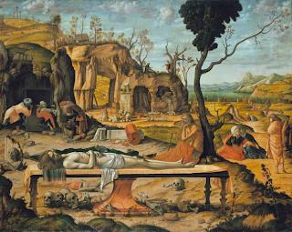 Préparation de la tombe du Christ Vittore Carpaccio