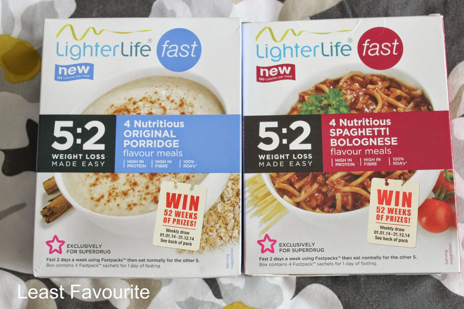 Picture of LighterLife FAST meals