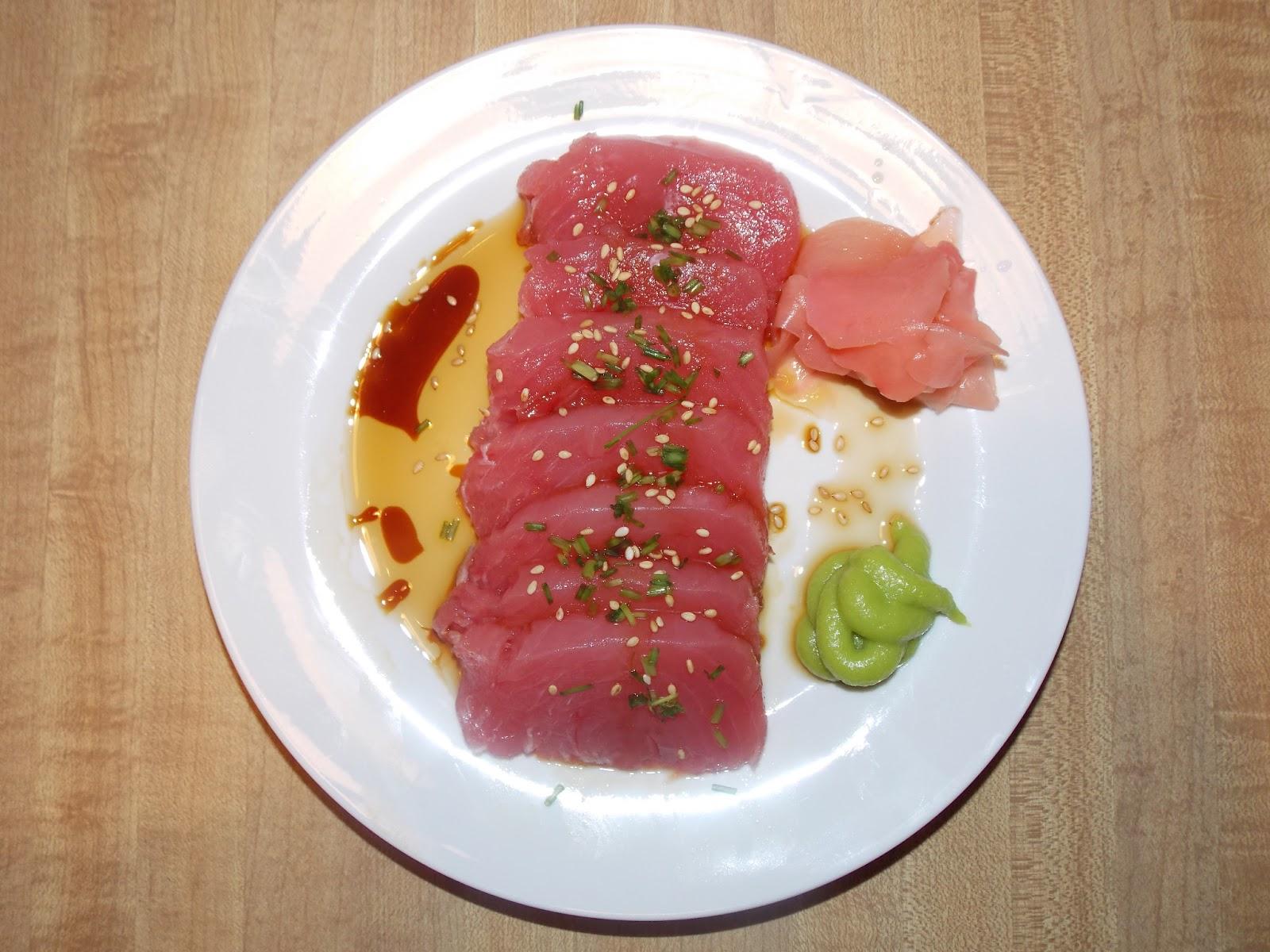 Sauce for tuna sashimi bing images for Sashimi dressing