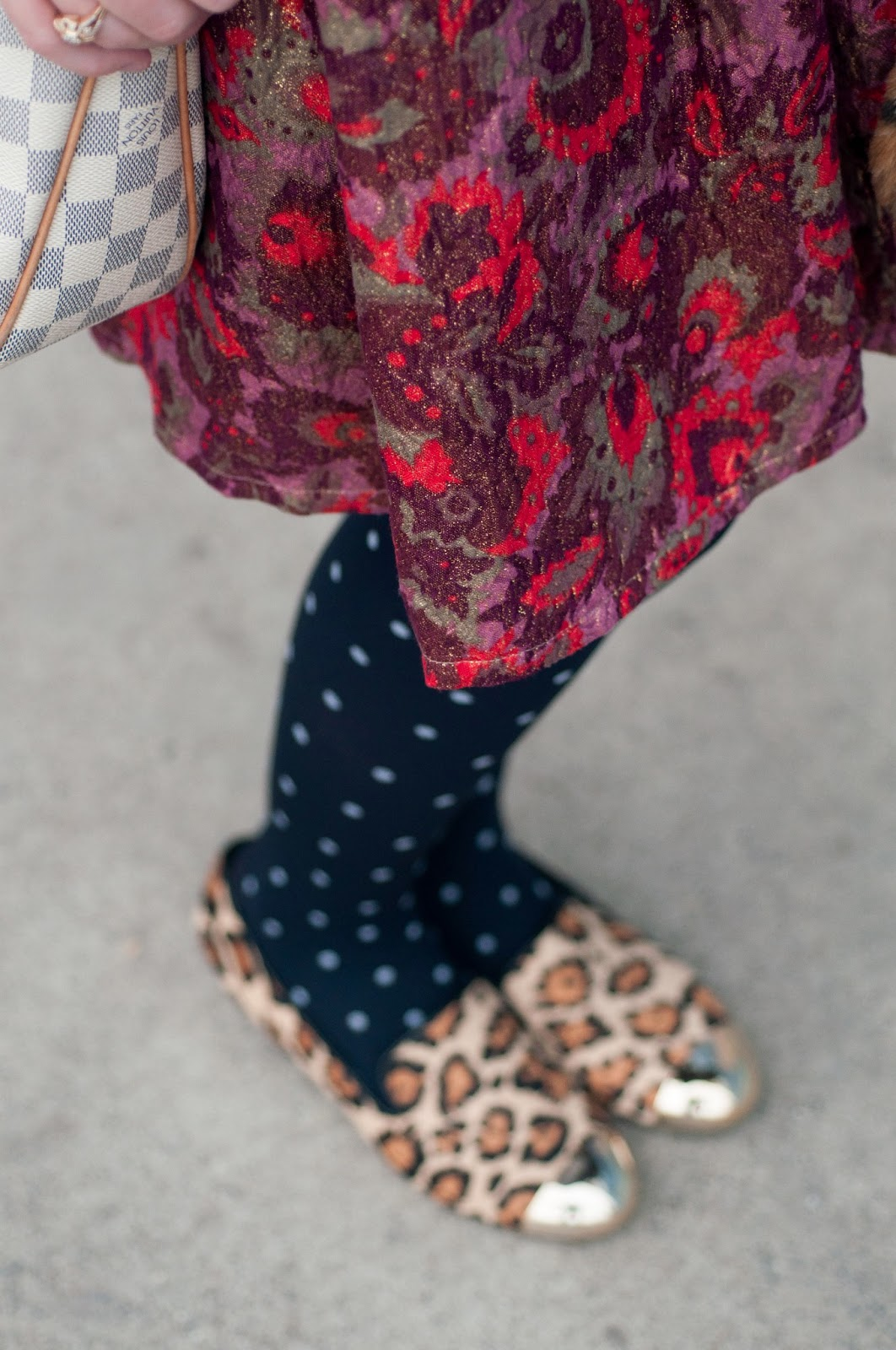 fashion blog, style blog, men's fashion blog, style blog, anthropologie ootd blog, anthropologie ootd, anthropologie, steve madden, cheetah, loafers, gold tipped shoes, polka-dot tights
