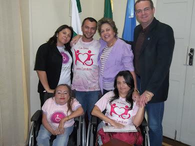 Reunião do Fórum com a prefeita Fafa Rosado