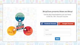 Shopclues Share and Shop