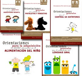 Documentos preventivos para Educación Infantil