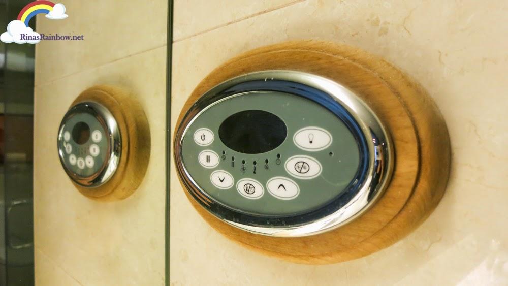 steam bath controls