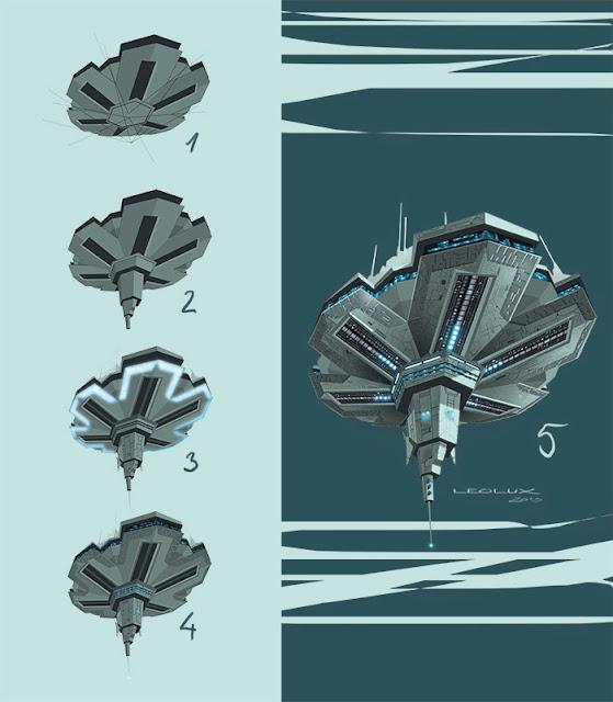 leolux, diseño nave espacial, spaceship design,