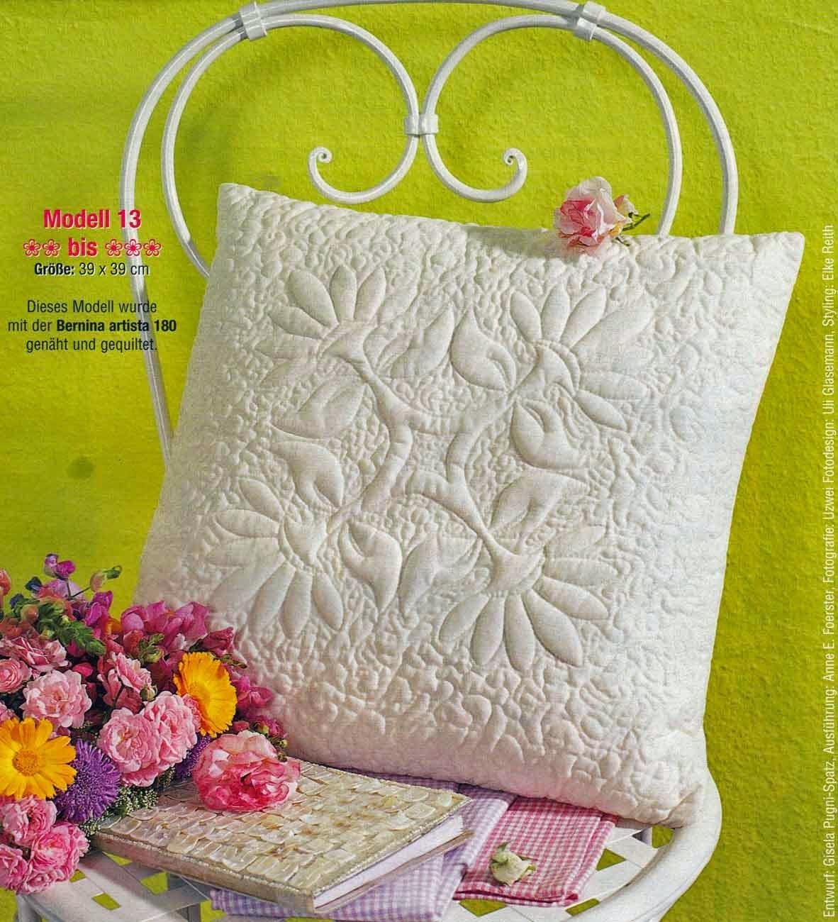 poduszka ozdobna pikowana