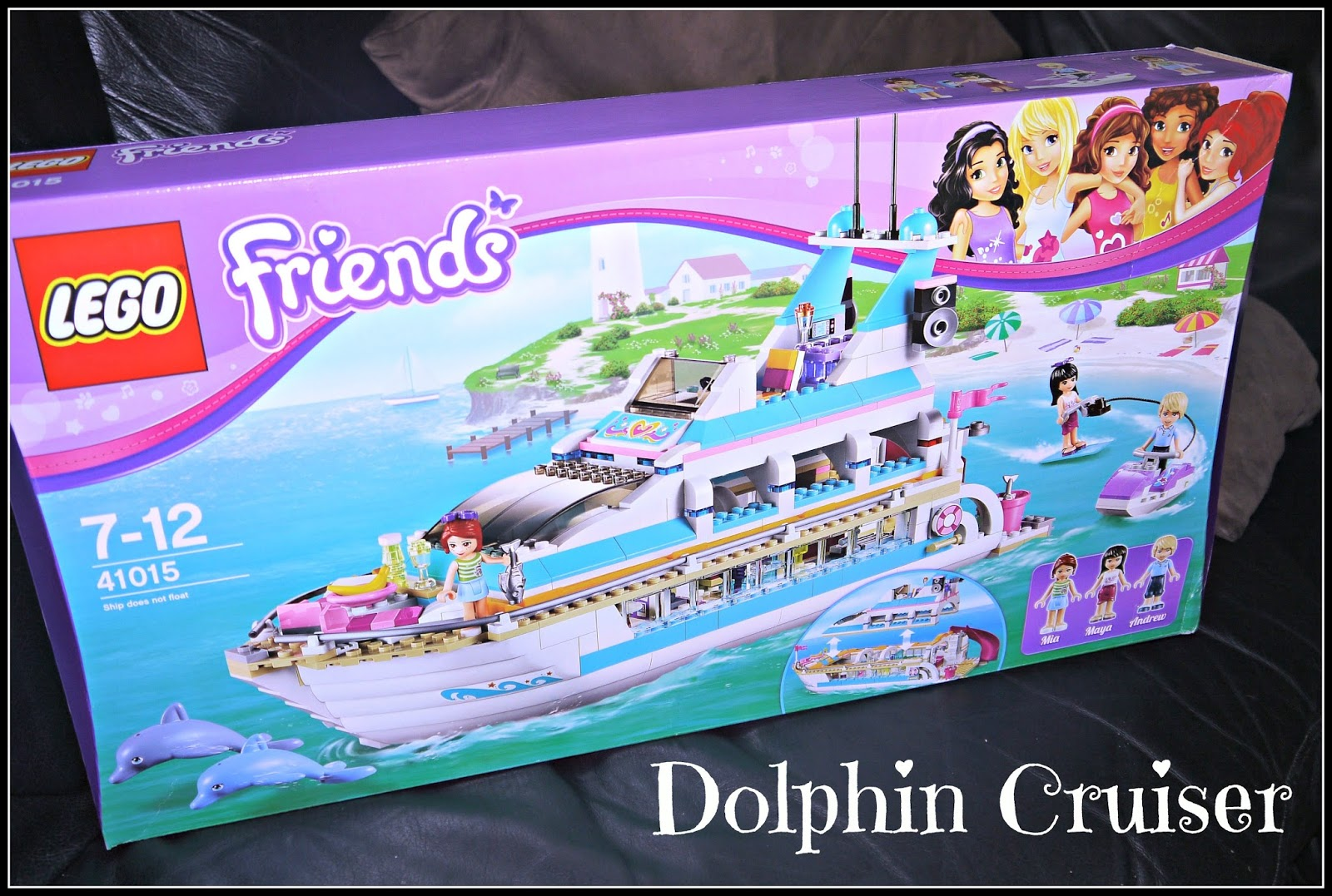 Inside the Wendy House: LEGO Friends Dolphin Cruiser Review