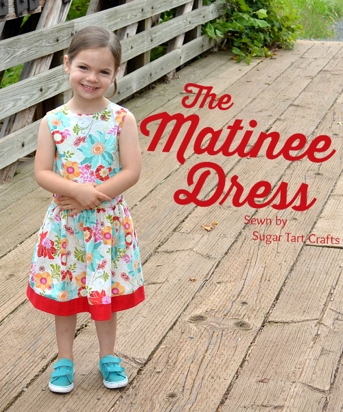 The Matinee Dress and Peplum Top Pattern by Jennuine Design