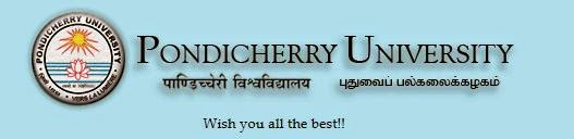 Pondicherry University MBBS, MSc 2014 Results Check Now