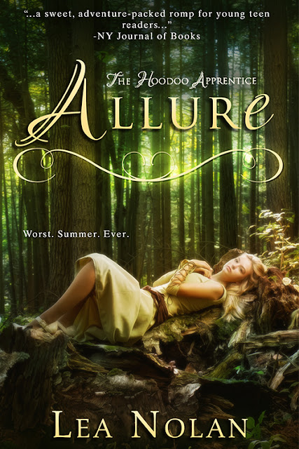 Cover Reveal and Giveaway: Allure by Lea Nolan