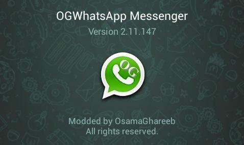 OGWHATSAPP v2.11.315   DOS WHATSAPP EN EL CELULAR | APK | Android (Descargar Gratis)