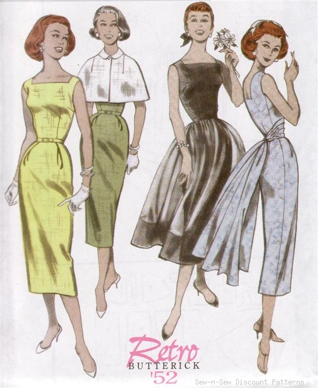 VINTAGE SEWING PATTERN ART!