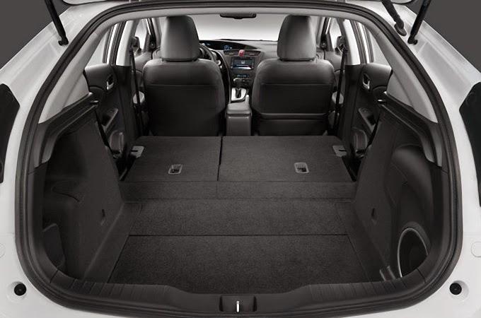 Portbagajul Honda Civic 5D