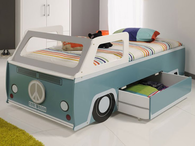 campervan kid's bed