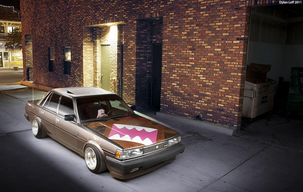 Toyota Cressida, X70, MX73, japoński sedan, hardtop, stary samochód, klasyk, kultowy, napęd na tył, RWD, tuning, sportowy, zdjęcia, fotki, 日本車, チューニングカー, シャコタン, クラシックカー