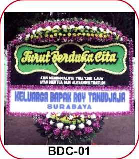 Kirim Bunga Duka Cita ke Sentul Bogor