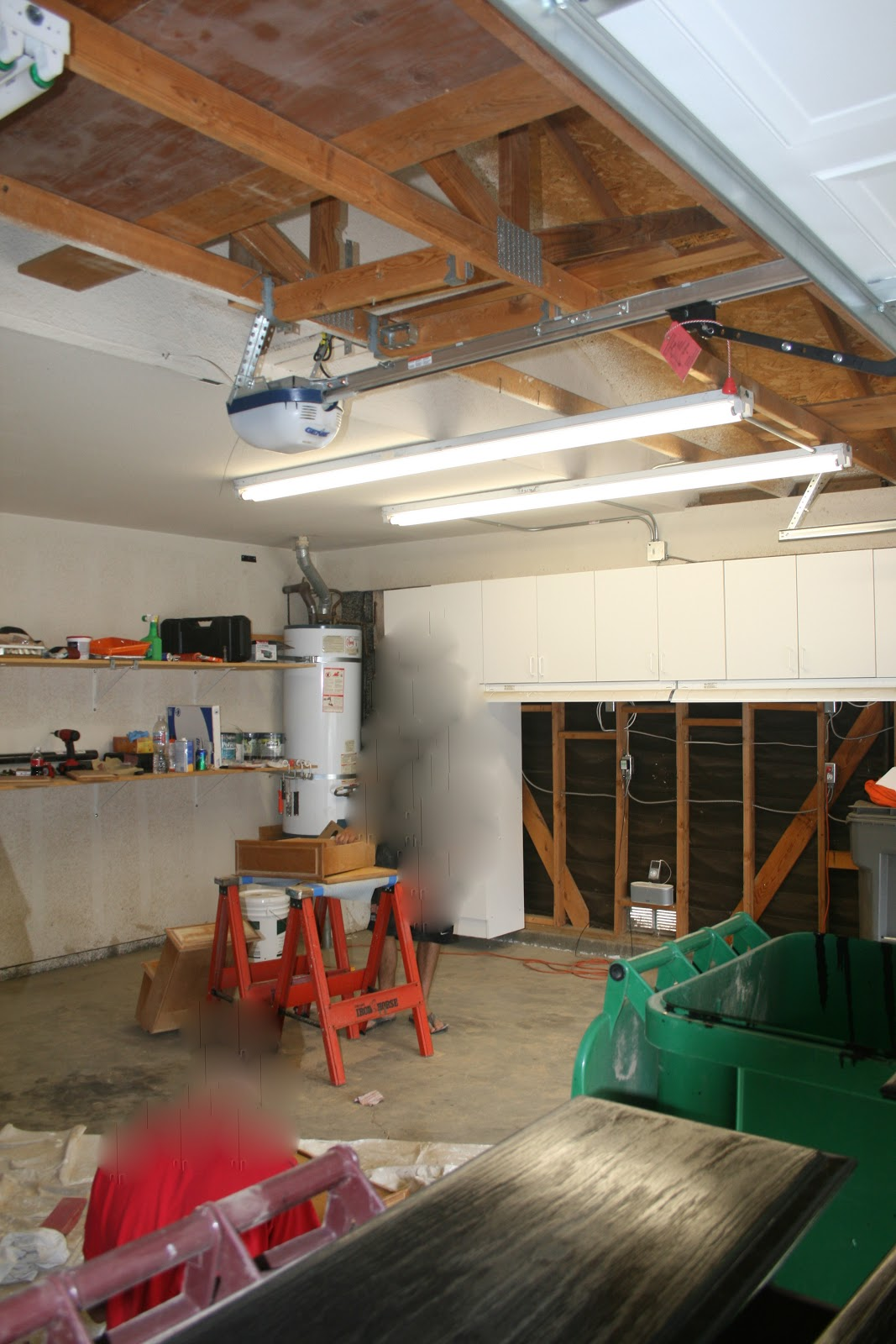 Adventures in diy garage workbench for How to build a safe room in your garage