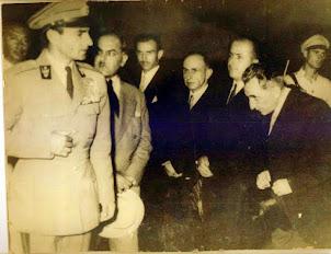 لاهیجانی ها برای استقبال از شاه به فرودگاه رشت رفته بودند