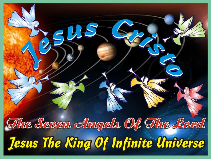 Jesus And The Seven Angels Of The Lord
