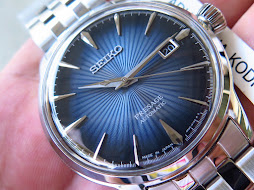 SEIKO PRESAGE SUNBURST BLUE SARY073 - AUTOMATIC 4R35 - BRAND NEW WATCH
