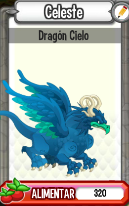La Guia de Dragon City: Dragon cielo