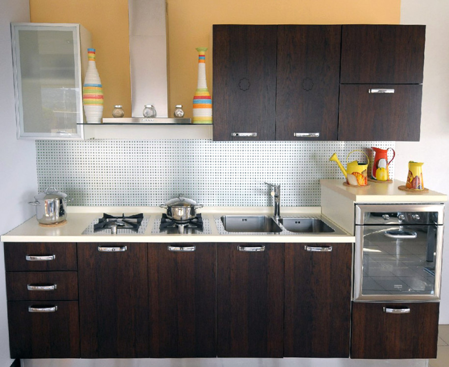 At all times man has sought to ensure that the kitchen was the most comfortable corner of his house. And what is interesting: changing fashion trends ... & Brown kitchen - Secrets selection of furniture and decoration ...