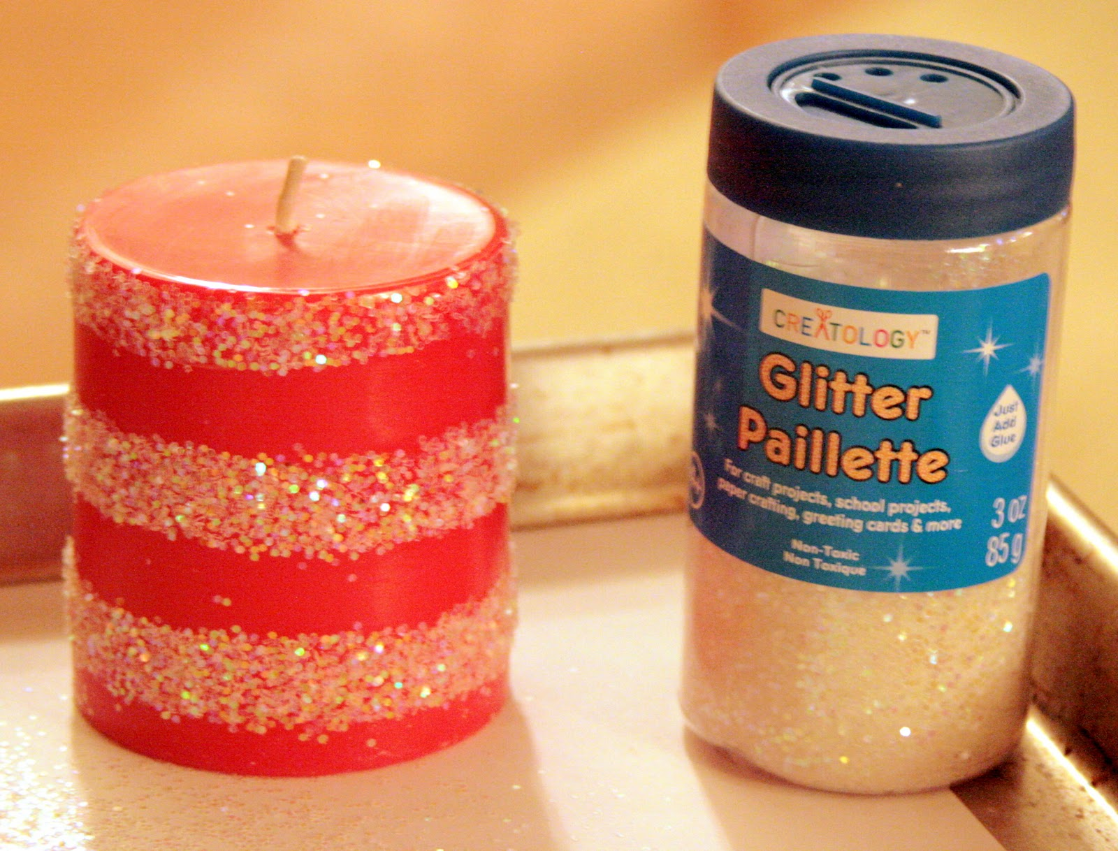 The Navy Stripe: Sparkle Candles
