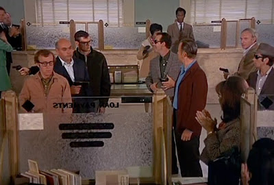 Bank Robbery in Take the Money and Run